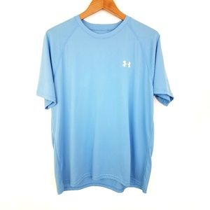 Under Armour | Heat Gear Tee Light Blue